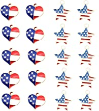 red white and blue charm pack