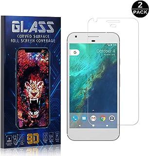 Google Pixel Screen Protector, UNEXTATI® Premium HD [Anti Scratch] [Anti-Fingerprint] Tempered Glass Screen Protector Film for Google Pixel (2 PACK)