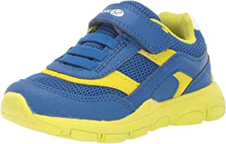 GEOX Unisex-Child New Torque Boy 2 Sp Velcro Sneaker Blue Size: