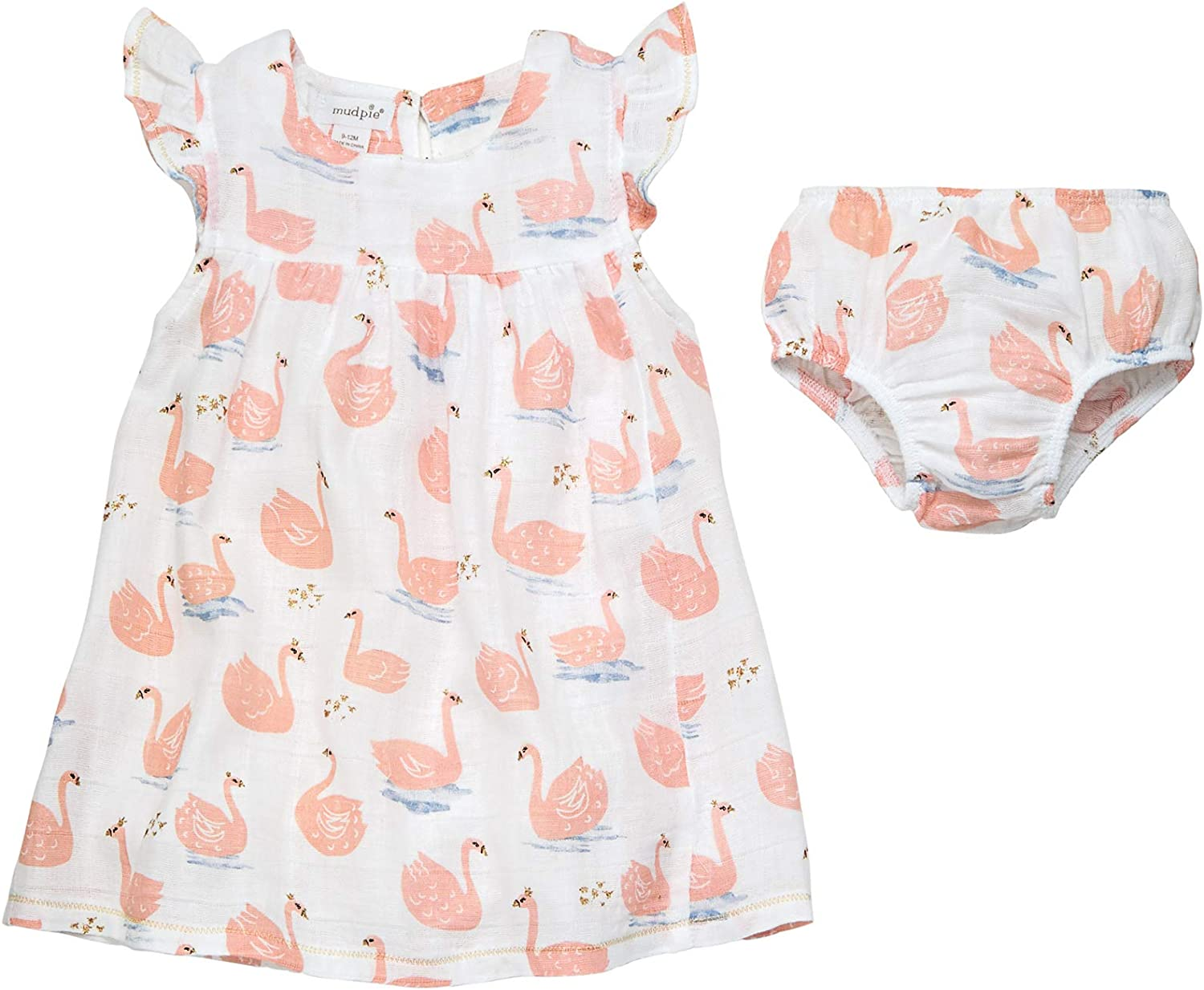 Mud Pie Baby Girls' Sail Spring new work one after another Muslin Dress Bargain Away