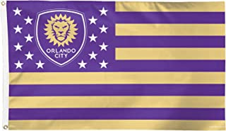 MLS Orlando City SC Stars and Stripes Flag Deluxe, 3 x 5-Foot