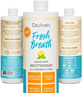 antibiotic mouthwash by Oxyfresh