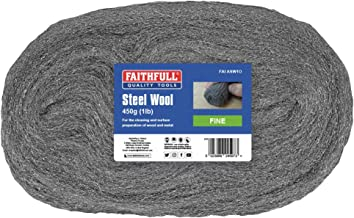 Faithfull - Staalwol 450G 0 fijn - FAIASW1O