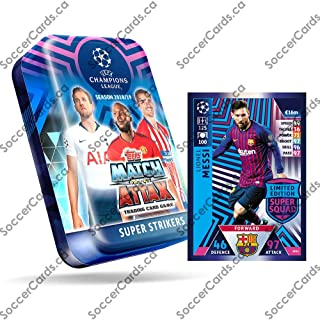 match attax champions league 2017 18