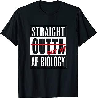 Straight Outta AP Biology Class T Shirt Teacher Student