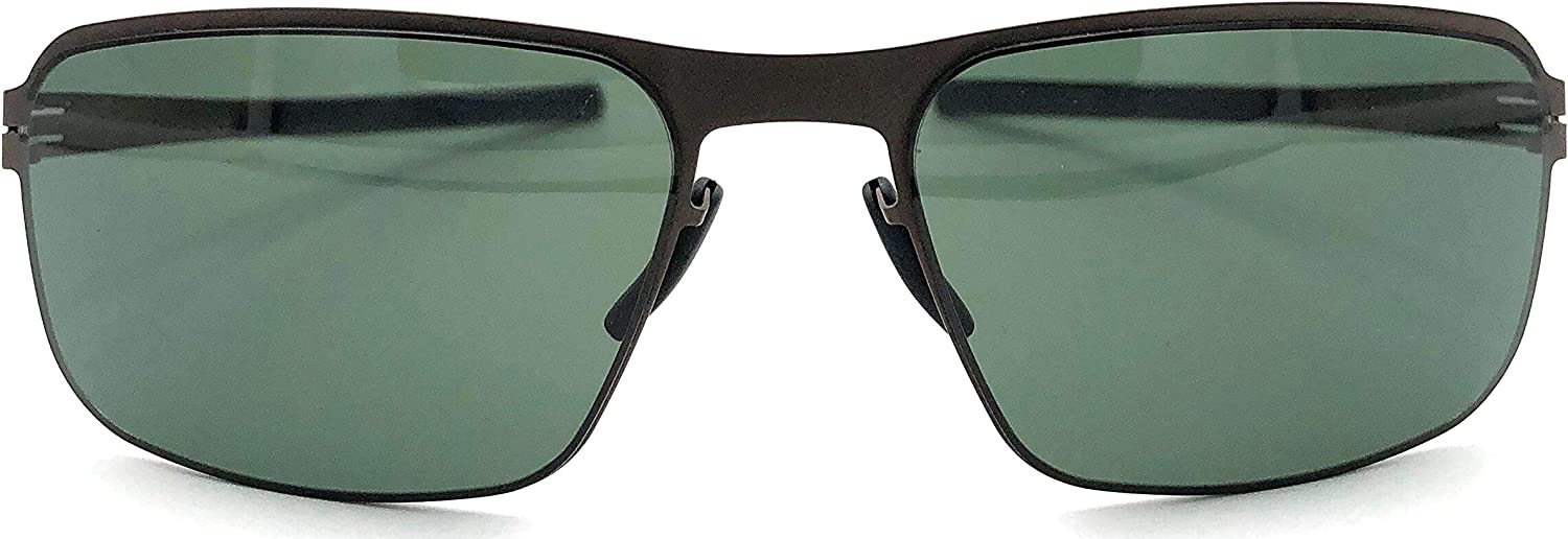 Ic  berlin Black Body Teak Sunglasses