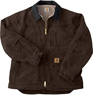 Men's Ridge Coat Sherpa Lined Sandstone C61