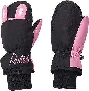 TRIWONDER Kids Waterproof Snow Mittens Gloves for 2-8 Years Old Boys Girls Toddlers Winter Warm Ski Snowboard Gloves Mitts