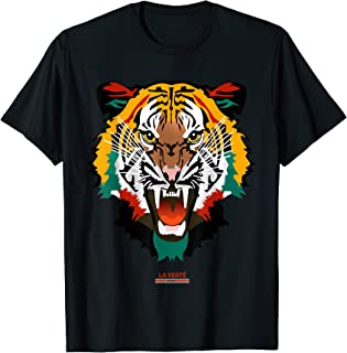 Shirt With Tiger Face Tiger T-Shirt Fashion Graphic Tees
