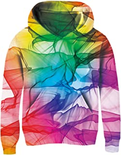 UNICOMIDEA Unisex Hoodies for Kids 3D Prints Sweatshirts Pullover with Pocket for 3-14 Years