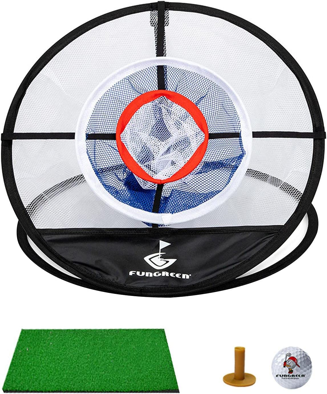 Tinello Outlet sale feature Minneapolis Mall Golf Practice Net Three-Layer Foldable Chippi Garden for