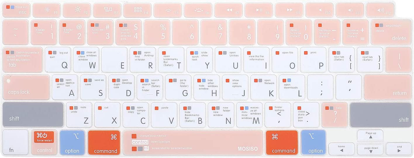 Spring new work one after another MOSISO Fixed price for sale Keyboard Cover Only Compatible with MacBook Air inch 2 13