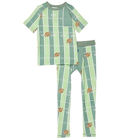 Kickee Pants Kids Short Sleeve Sport Pajama Set (Big Kids)