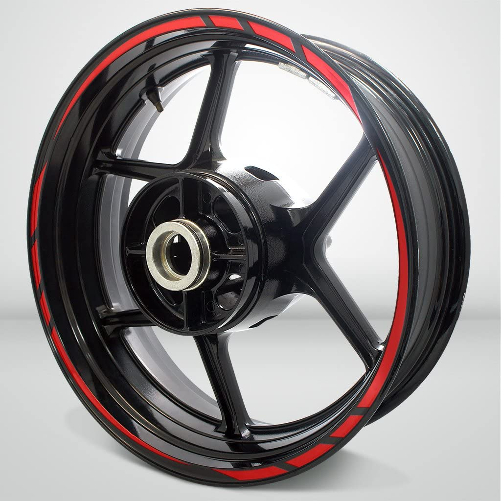 Stickman Vinyls Gloss Red Rapid Outer Liner Stripe Compatibl Outlet sale feature Rim Ranking TOP2