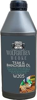 Teak & Bangkirai Pflege Teakholz Bangirai Pflegeöl Holzpflegeöl Holzöl Öl W205-1L