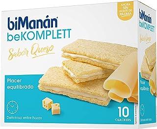 comprar comparacion biManán - beKOMPLETT - Placer Equilibrado - Cracker Queso - 10uds 200 gr