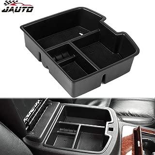 JAUTO Center Console Organizer Insert Tray for 2007-2014 Chevy Silverado GMC Sierra Tahoe Suburban Yukon/XL, GM Vehicles Accessories, Replaces 19166288