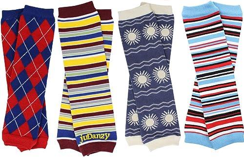 Black Stretchy Chevron Stripe Solid Warm Leg Warmer Fashion Trendy Lot New Cute