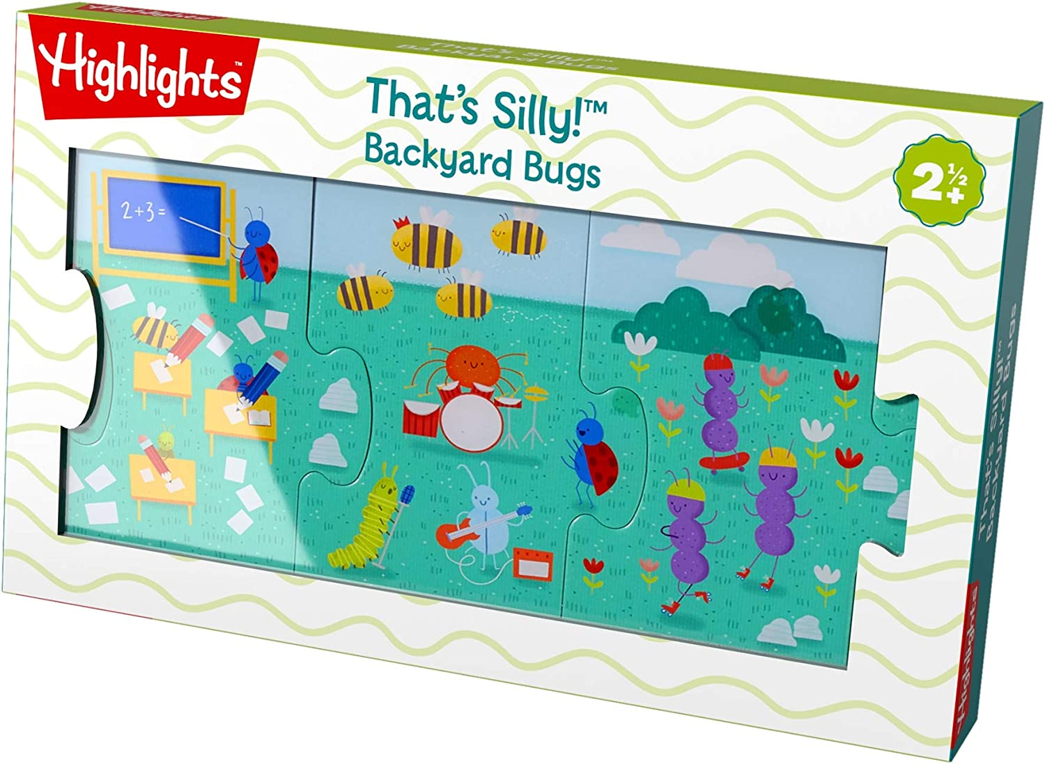 HABA Highlights Superior Cheap mail order sales That's Silly Backyard Piece 9 Bugs Floor Jumbo