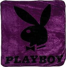 Playboy - Classic Bunny Purple Queen Blanket