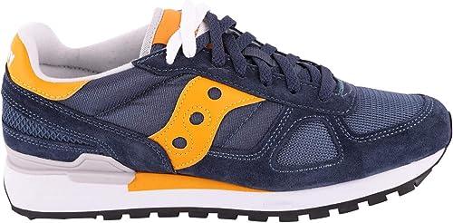 Saucony 2108693 - Hauszapatos de Piel para Hombre, Color azul