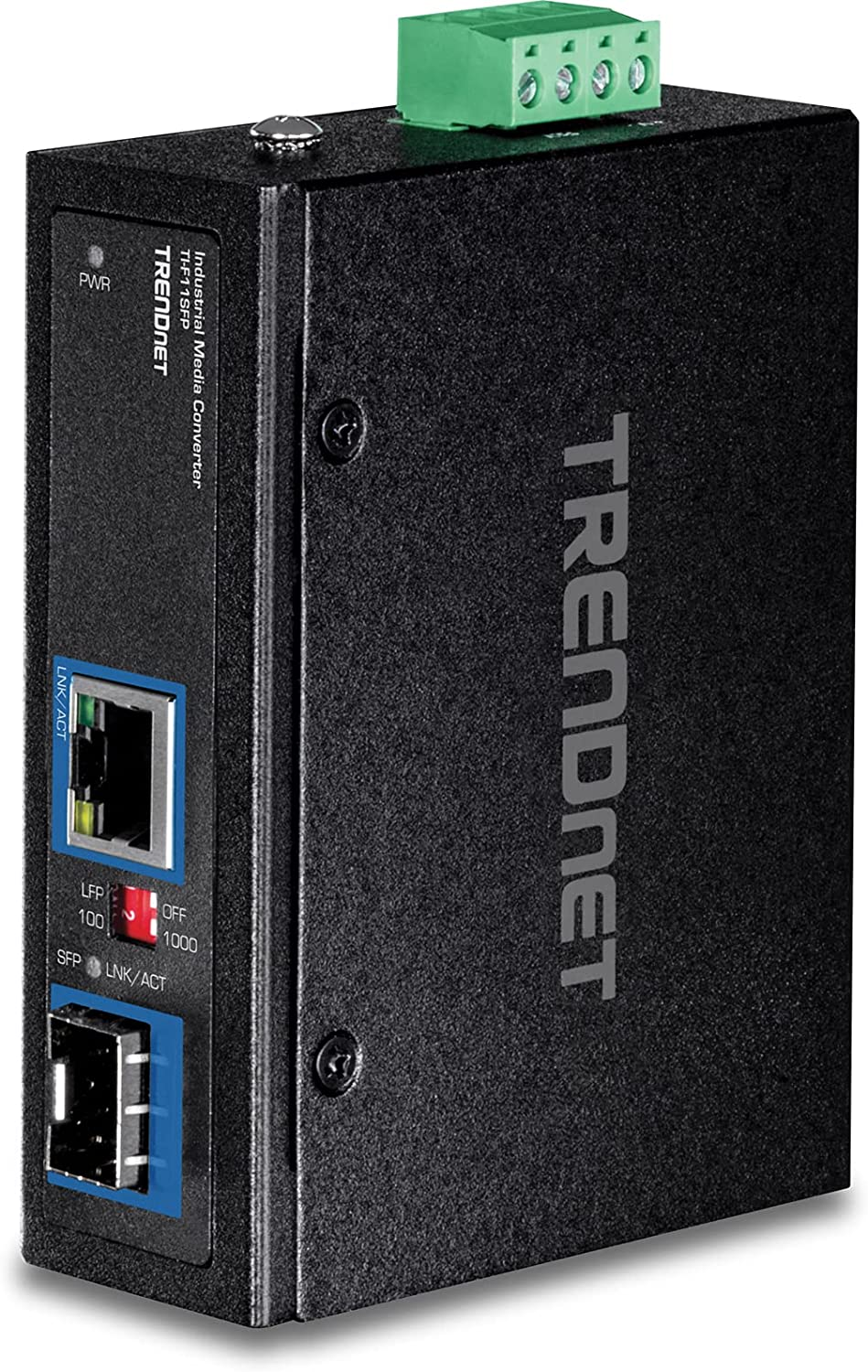 TRENDnet Hardened Industrial wholesale 100 1000 Conver sold out Media Base-T SFP to