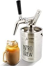 G Francis Nitro Cold Brew Coffee Maker – 64 Oz Stainless Steel Nitrogen Infuser Nitro Coffee Keg Cold Brew Nitro Coffee Machine