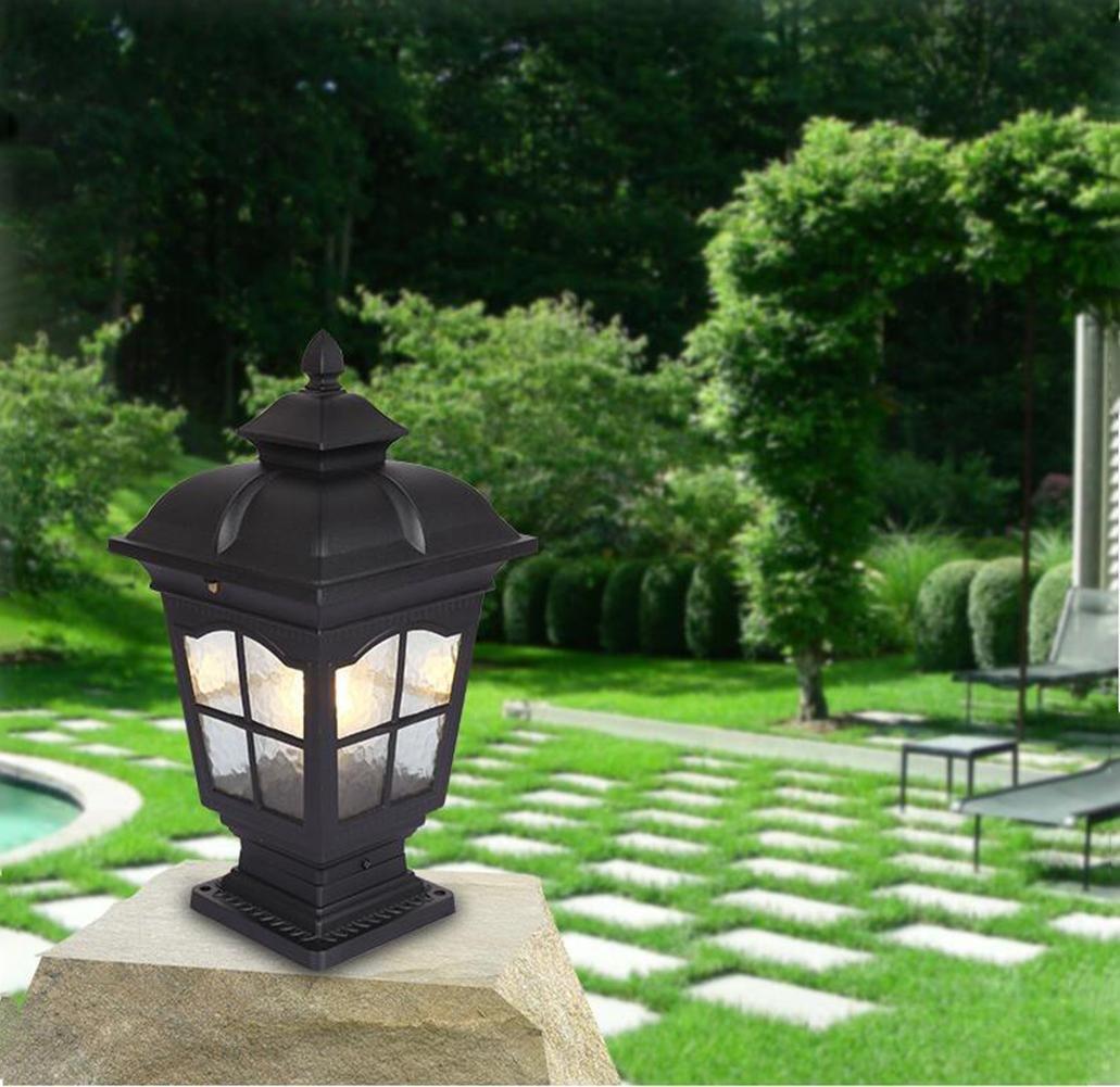 CHSUKHO Pilares de pared LED Impermeable Lámpara / Puerta Patio Villa Jardín decoración de paisaje Luz- IP44 Clasificación , Small: Amazon.es: Iluminación