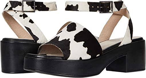 Cow Print Suede
