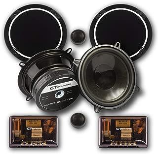 CT SOUNDS 5.25 Inch Car Audio Component Speakers Set - 2-Way Full Range, 0.75