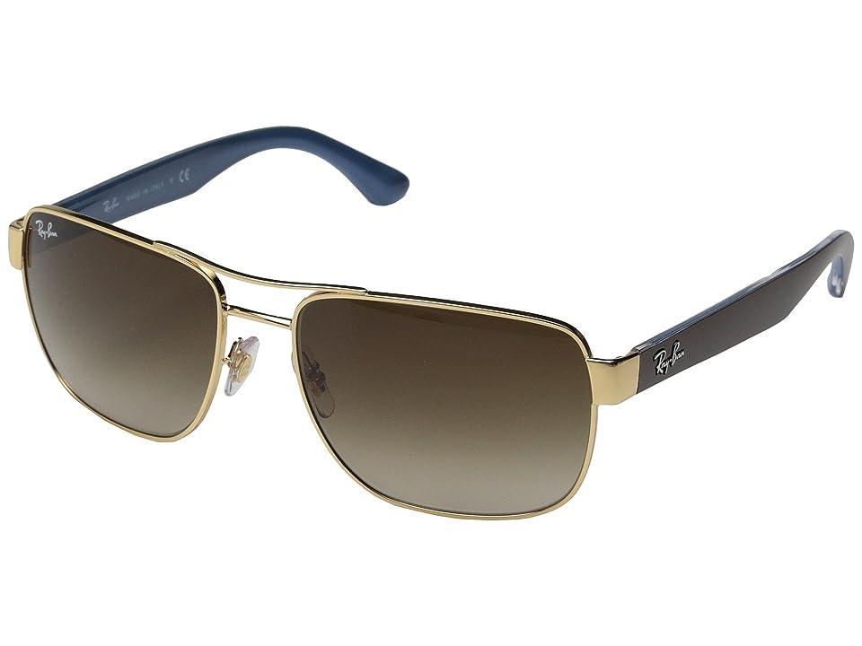 Ray-Ban RB3530 58mm (Gold) Fashion Sunglasses