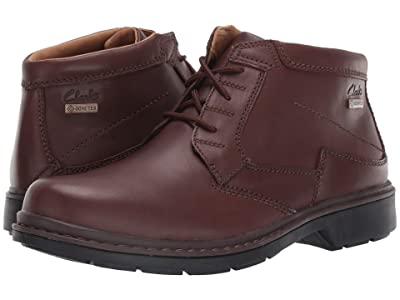 Clarks Rockie Hi Gore-Tex (Brown Leather) Men