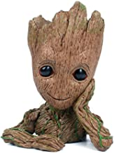 Baby Groot Flowerpot, Groot Action Figures Guardians of The Galaxy Succulent Planter Baby Cute Model Toy Pen Pencil Holder PVC Plant Holder Creative Decoration Gifts