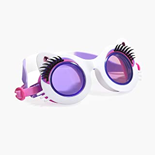 Bling 2O Kids Swimming Goggles - Swim Goggles for Girls - Anti Fog, No Leak, Non Slip, UV Protection with Hard Travel Case - 8+