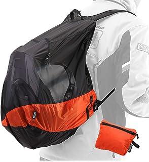 ドッペルギャンガー(DOPPELGANGER) ULヘルメットインエコリュック【バイカーのための超軽量大容量エコバッグ】 容量25L 畳んでシート下に収納可 DBT597-BK