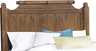 Broyhill Attic Heirlooms 6/0 -6/6 Feather Headboard, Brown