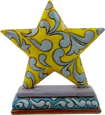 Enesco Jim Shore Heartwood Creek Fig Mini Celebration St Figurine, 3-1/4-Inch