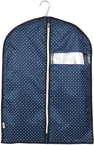 Aufbewahrungstaschen Xuan - Worth Another Blau Weiß Punktmuster 5 Stück waschbar Kleidung Staubschutz Fenster Anzug Abdeckung hochwertige Koffer Tasche (Größe   60  120cm)