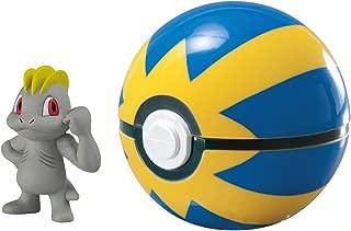 Pokémon Clip And Carry Poké Ball, Machop And Quick Ball