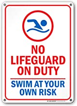 Best lifeguard on duty sign Reviews