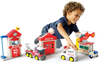 Fat Brain Toys Fire Station Playset