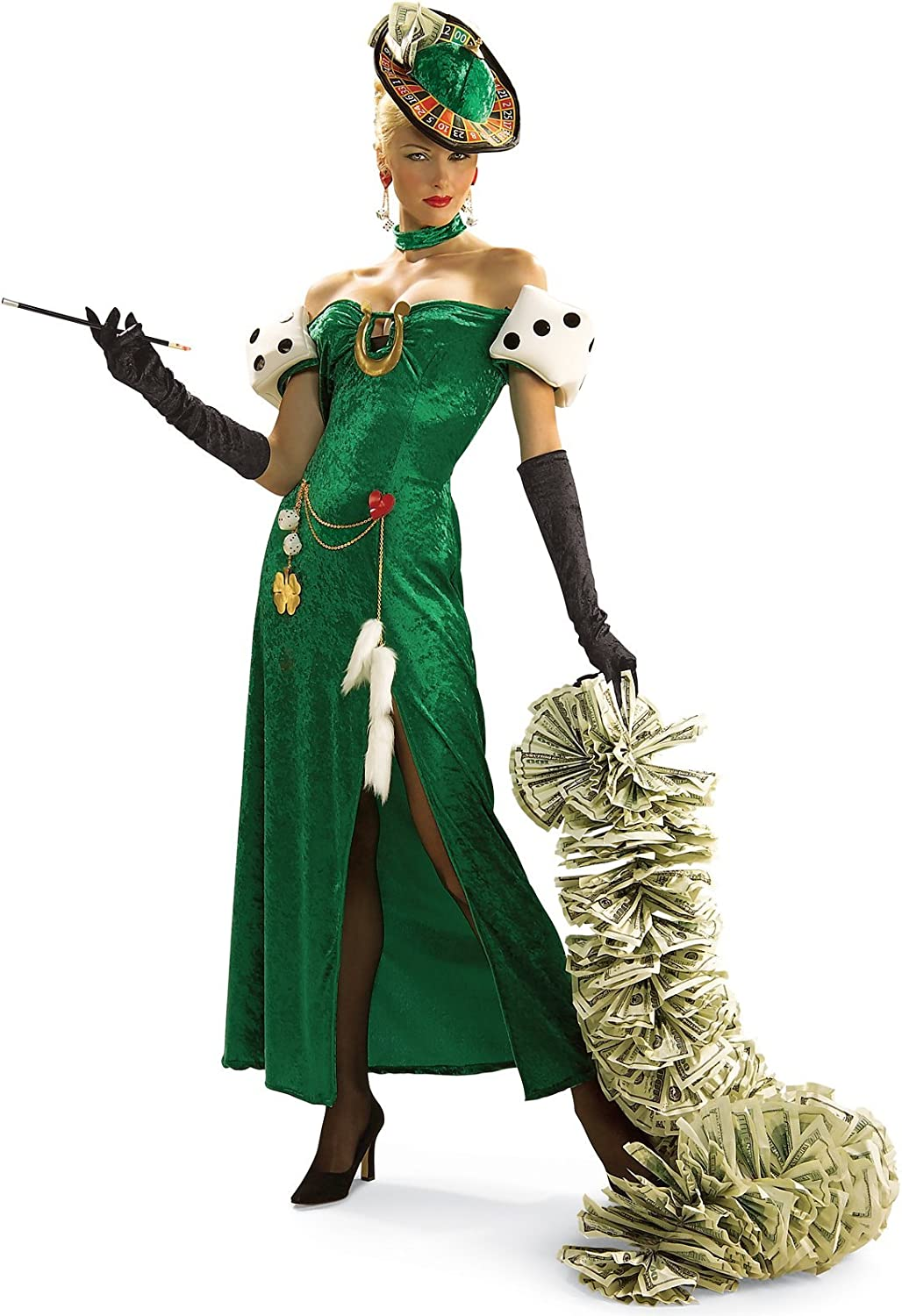Rubie's Official Lady Luck Fancy Dress  Large