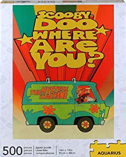 Scooby-Doo Where Are You? 500 Piece Jigsaw Puzzle