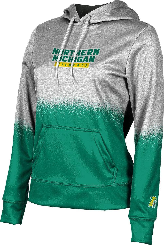 ProSphere Northern Michigan University Girls' Pullover Hoodie, School Spirit Sweatshirt (Spray Over)