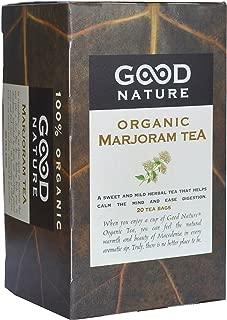 Good Nature Organic Marjoram Tea,  1.07 Ounce