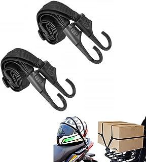 荷物固定 ゴムロープ 2本セット カテゴリ 固定紐 荷台用 ゴムひも 自転車 バイク キャリーカート ヘルメットストラップ