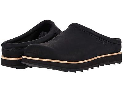 Merrell Juno Clog (Black Leather) Men