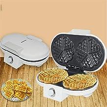 Machines à cupcakes 1200W Electric Waffle Maker - La machine à fabriquer les gaufres for la maison donne 5 chambres double...