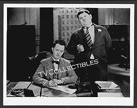 8x10 Photo~ LAUREL & HARDY ~Stan & Oliver ~At desk figuring