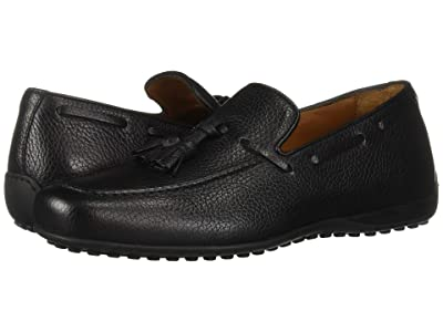 Aquatalia Richard (Black Pebbled Calf) Men